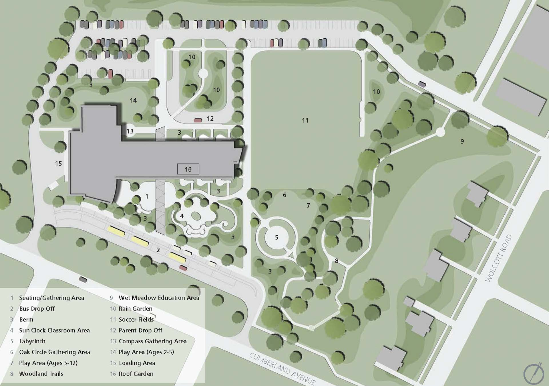CREC Discovery Academy_Education_15_site plan